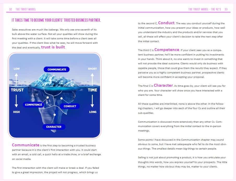 Trust model iceberg